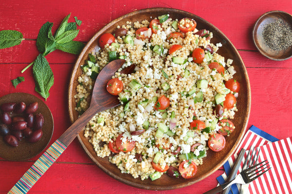 Summer Vegetable Couscous Salad