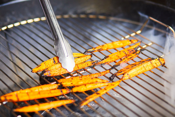 Grilled Spiced Carrots