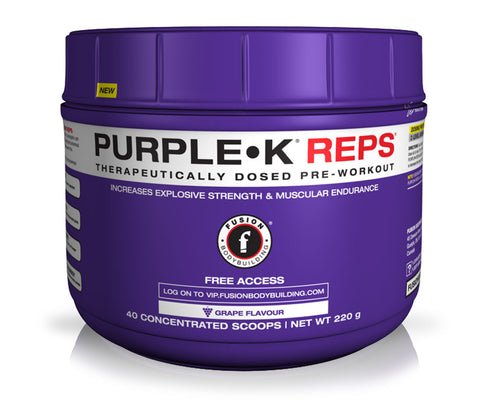PURPLE•K REPS - CREATINE PRE-WORKOUT
