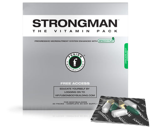 STRONGMAN - THE VITAMIN PACK