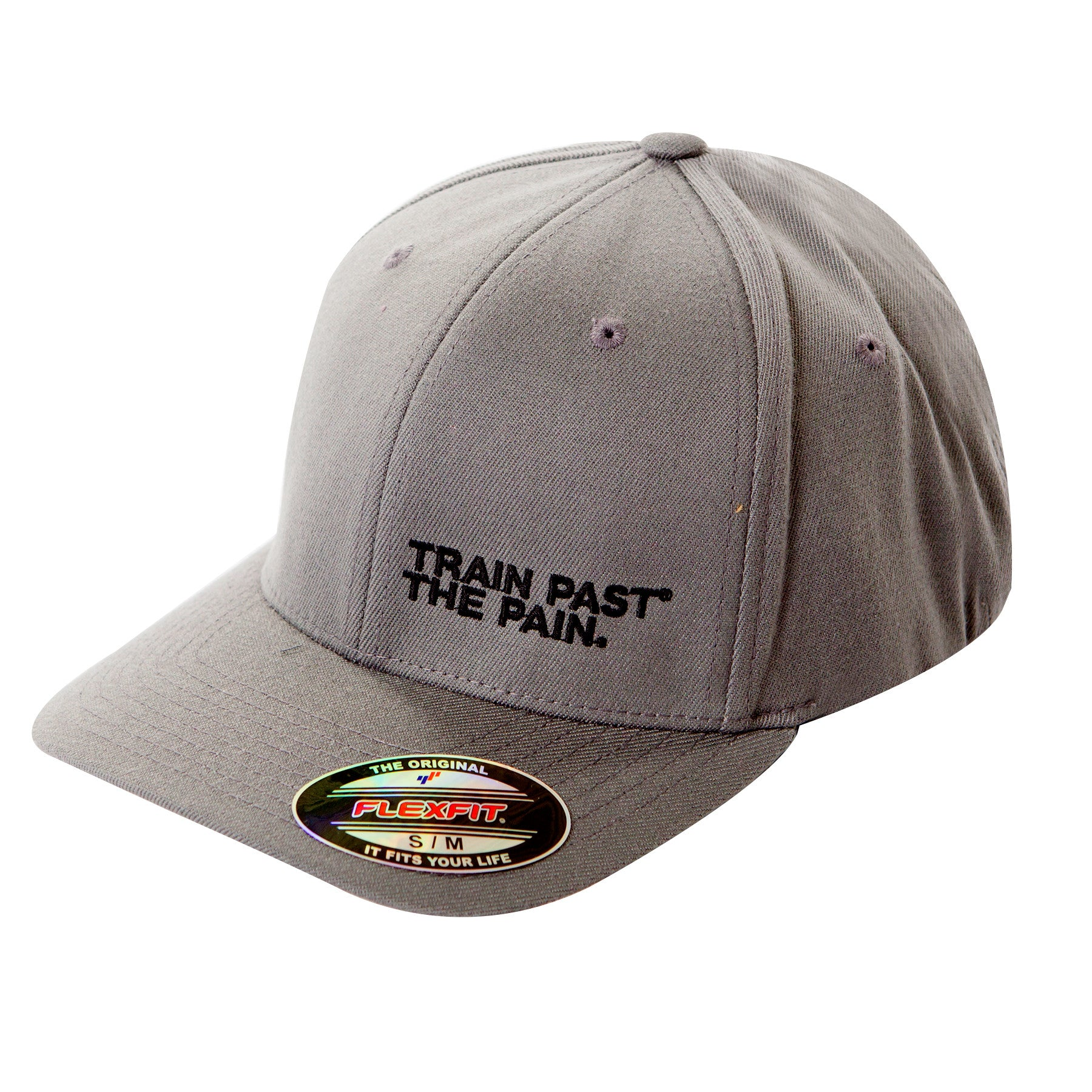 ORIGINAL TRAIN PAST THE PAIN FLEXFIT HAT (Grey)