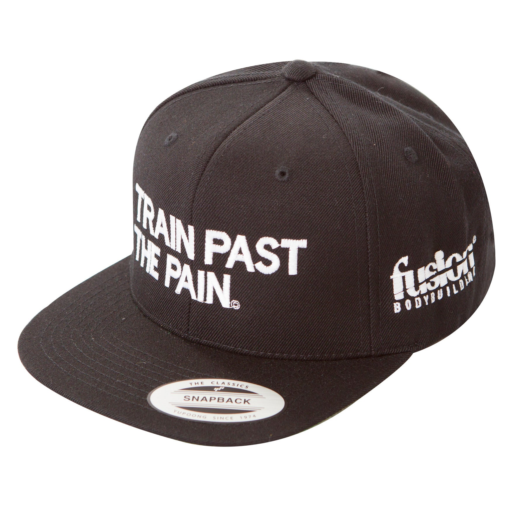 TRAIN PAST THE PAIN FLAT-BILL SNAPBACK HAT