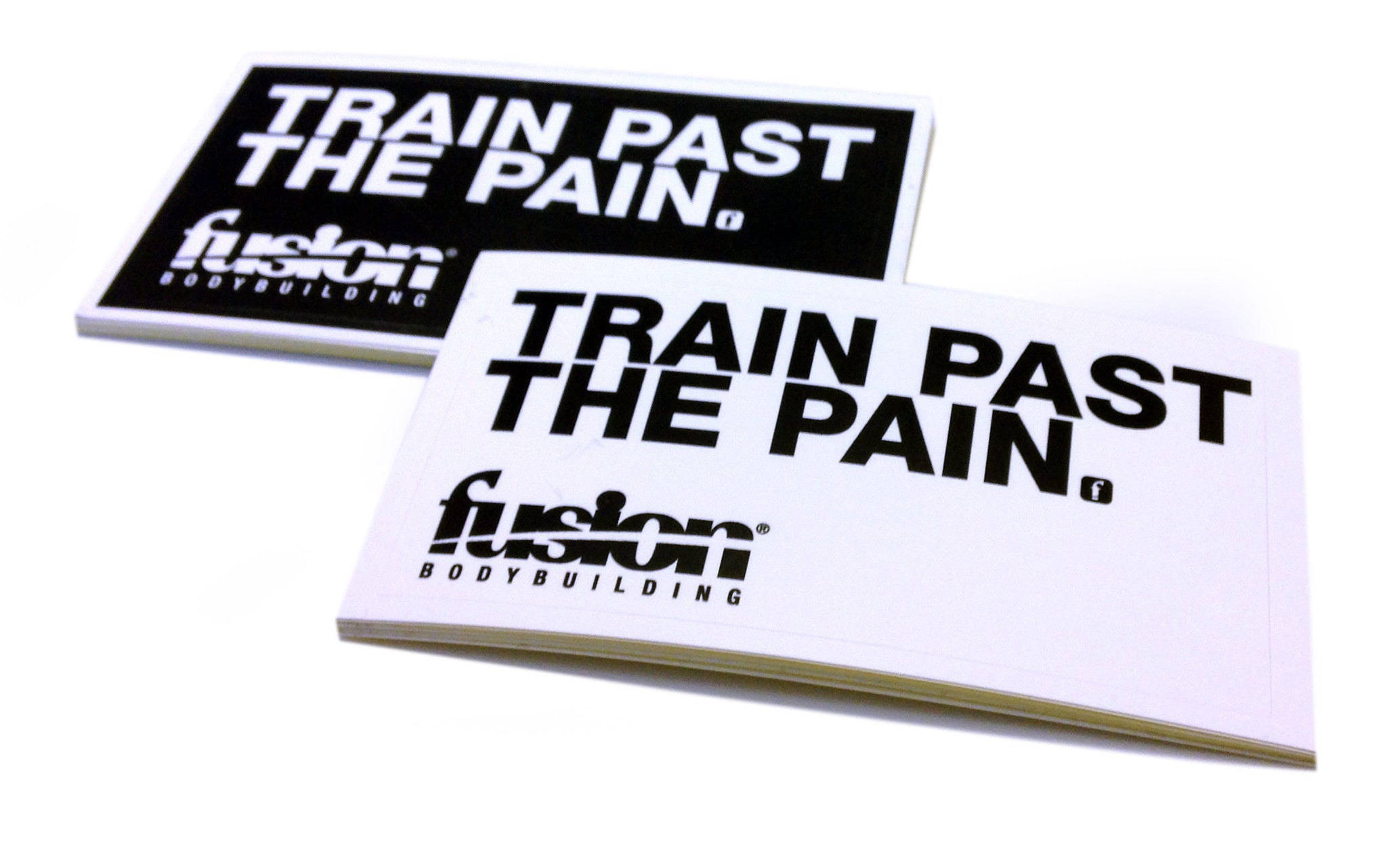 TRAIN PAST THE PAIN STICKERS (2-Pack)