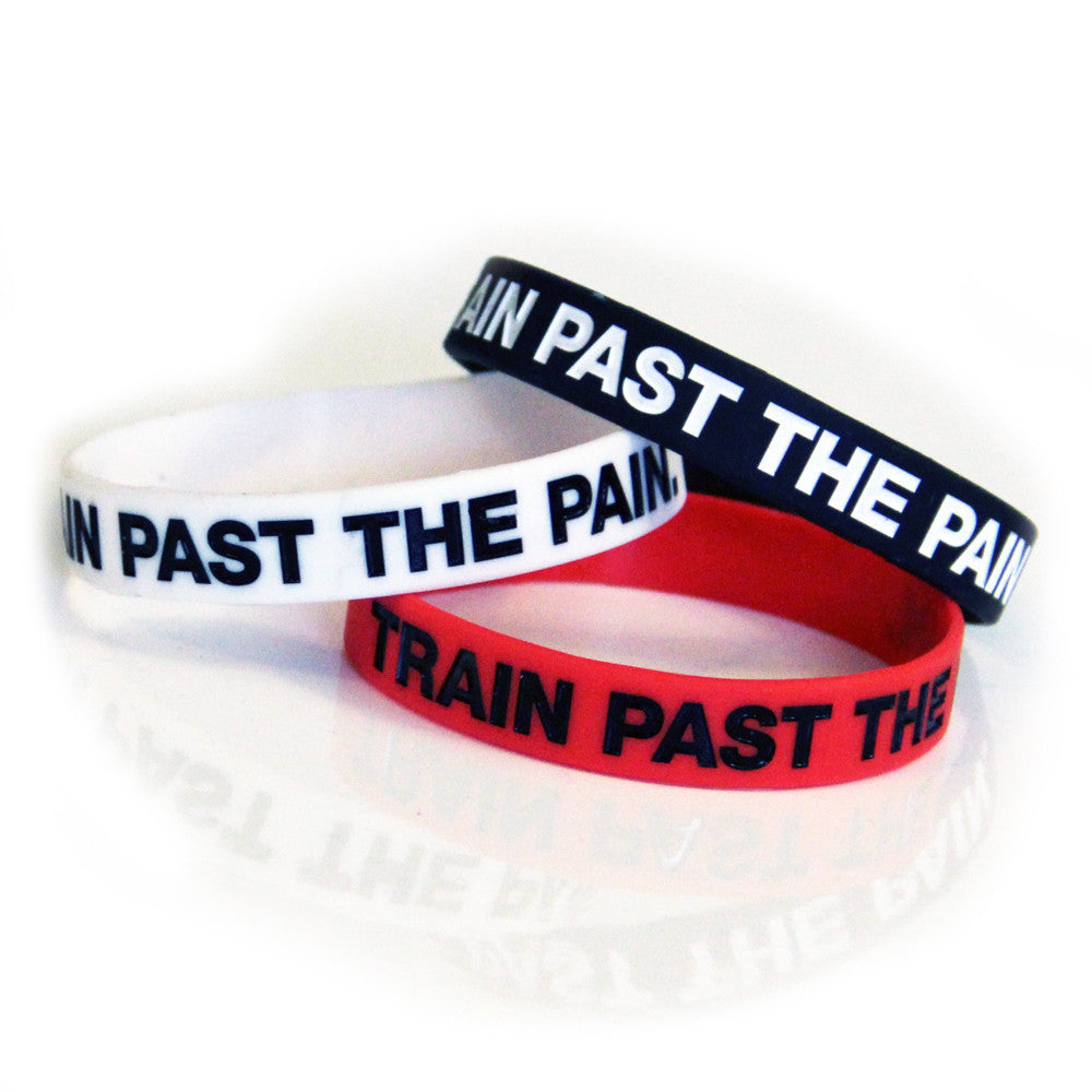 TRAIN PAST THE PAIN WRISTBANDS - (3-Pack)