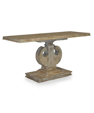 CFC Reclaimed Lumber Console Gray