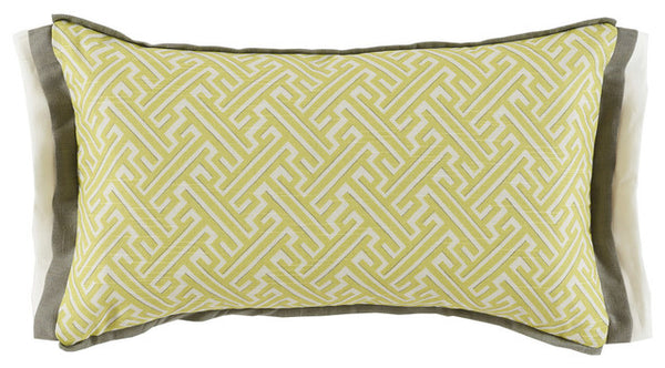 Lacefield Trellis Spring Decorative Pillow