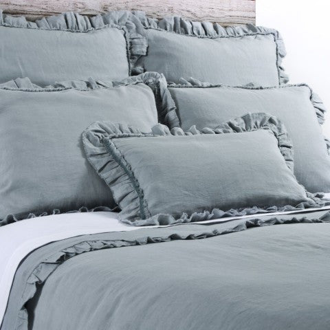 Pom Pom Mathilde Duvet Cover in Sea Foam