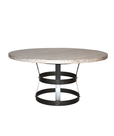 "CFC Basket Dining Table 54"" Gray"