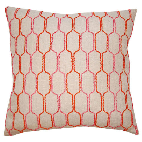 Square Feathers Dulce Honeycomb Pillow