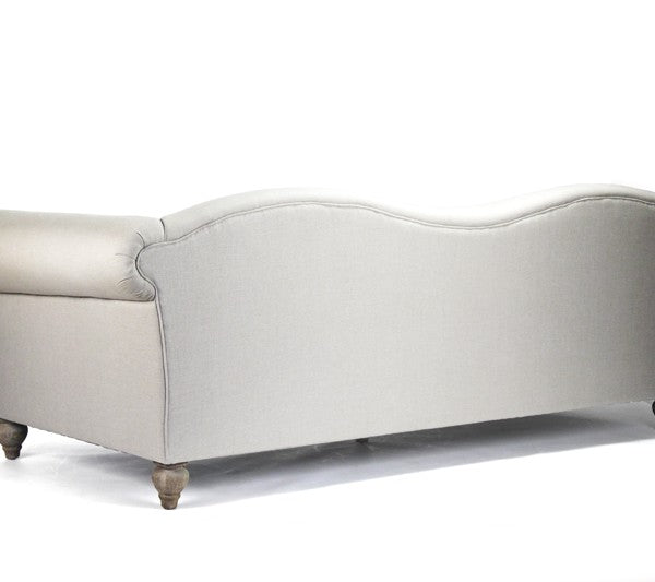 Zentique Marcus Waved Back Sofa