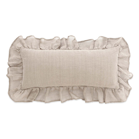 Pine Cone Hill Linen Mesh Natural Decorative Pillow
