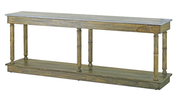 Currey and Company Sansom Console Table
