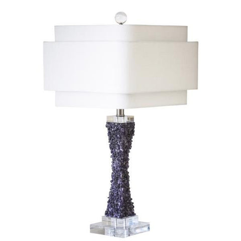 Couture Cienega Table Lamp in Purple