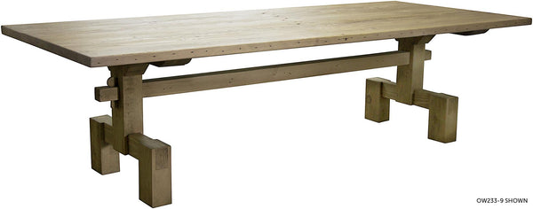 CFC Reclaimed Lumber Emilia Dining Table