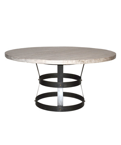 "CFC Basket Dining Table 60"" Gray"