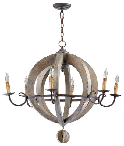 Cyan Design Barrel Chandelier