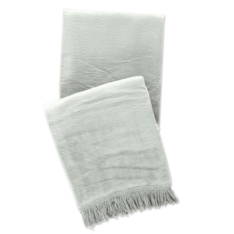 Pine Cone Hill Windsor Ocean Fringed Fleece Throw