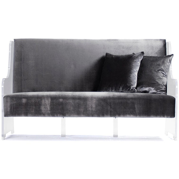 Zentique Acrylic Sofa Grey