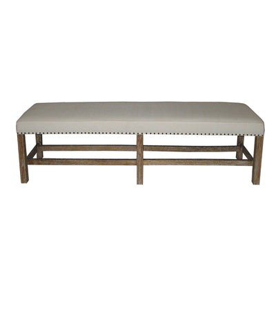 NOIR Sweden Bench, Grey Wash
