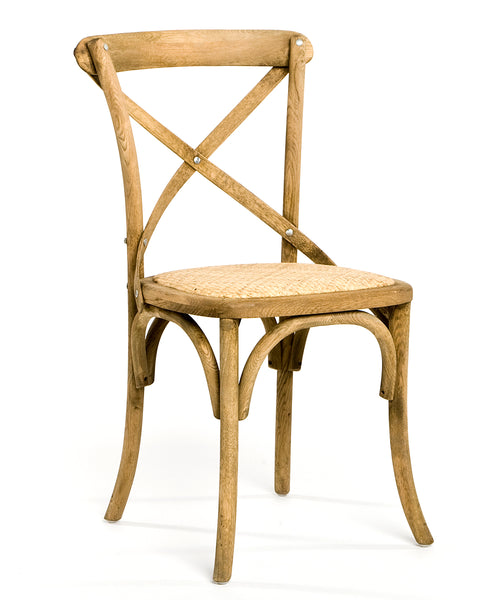 Zentique Parisienne Cafe Chair in Natural Oak