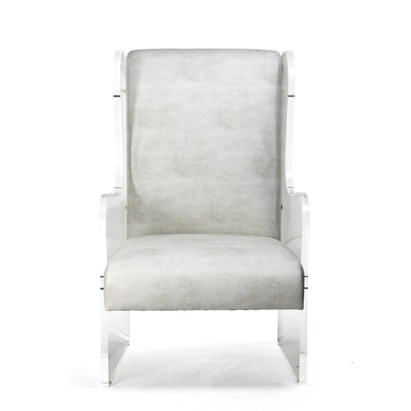 Zentique Acrylic WingBack Chair