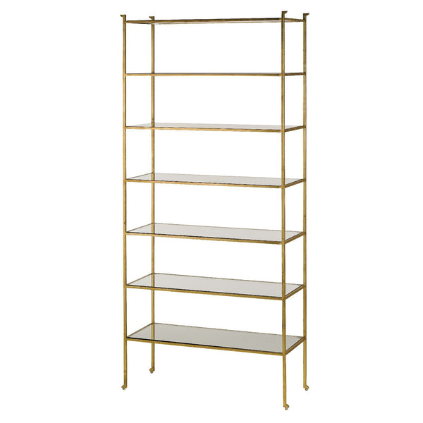 Currey and Company Delano Etagere Tall