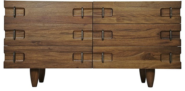 NOIR David Sideboard in Dark Walnut
