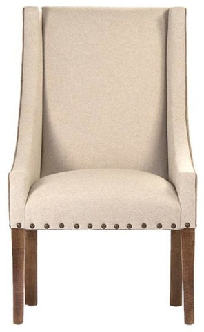 Zentique Paulette Chair Linen