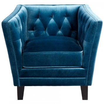 Cyan Prince Valiant Chair Blue