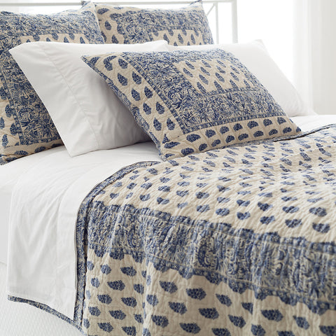 Pine Cone Hill Annette Blue Quilt