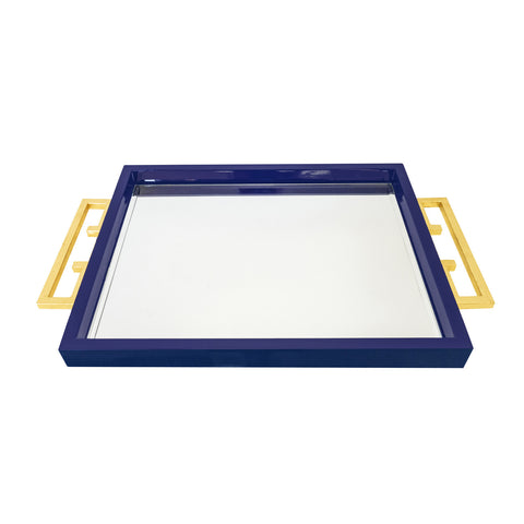 Couture Avondale Tray in Indigo Blue