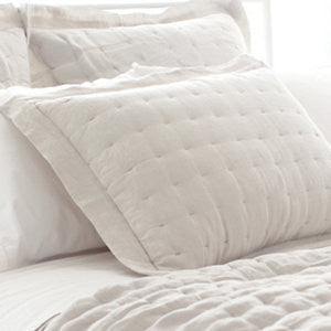 Pine Cone Hill Brussels Sham in Ivory