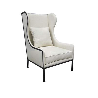 CFC Tall Allende Chair With Metal Frame