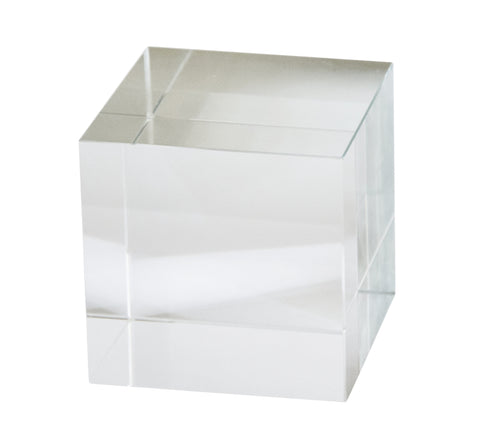 Couture Square Crystal Cube