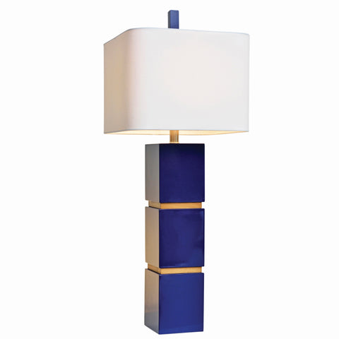 Couture Wilshire Table Lamp in Indigo