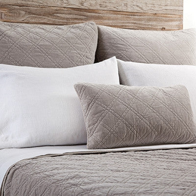Pom Pom Brussels Coverlet in Taupe