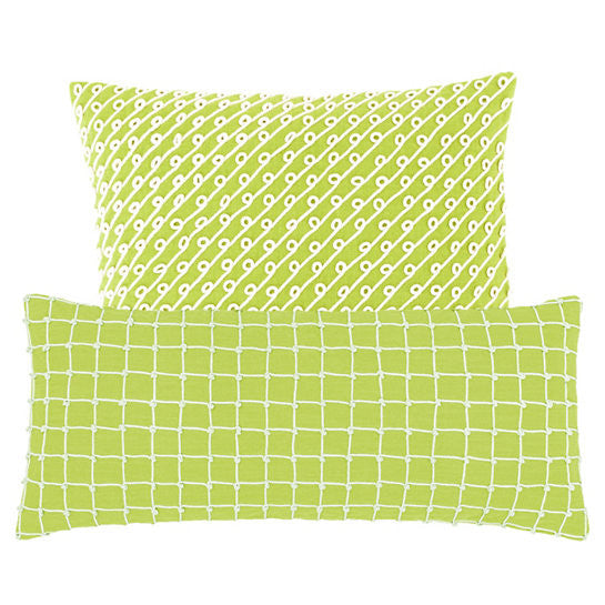 Pine Cone Hill Chadna Green Decorative Pillow