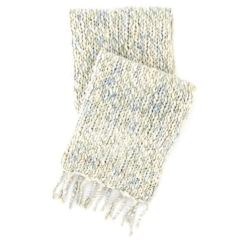 Pine Cone Hill Chunky Knit Mist Throw