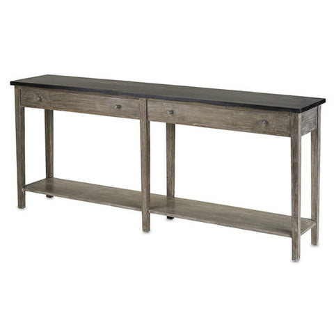 Currey and Company Westrow Console Table