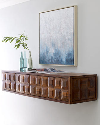 Global Views Baguette Floating Console Table