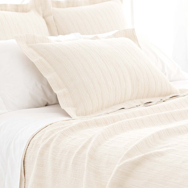 Pine Cone Hill Hardwood Ivory Matelassé Coverlet