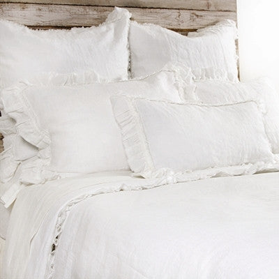 Pom Pom Mathilde Duvet Cover in Cream