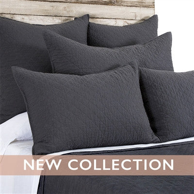 Pom Pom Hampton Shams in Midnight