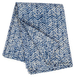 Pine Cone Hill Resist Indigo Quilted Throw
