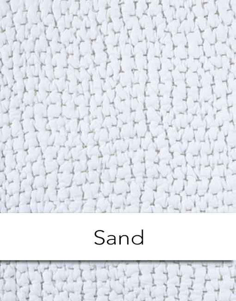 John Robshaw Hand Stitched Sand Coverlet