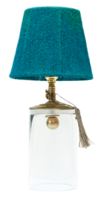 Ro Sham Beaux Chloe Table Lamp in Teal