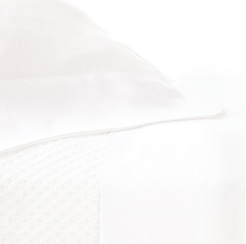 Pine Cone Hill Silken Solid White Sheet Set