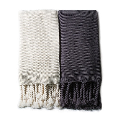 Pom Pom Trestles Oversized Throw Blanket