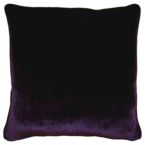 Square Feathers Vintage Velvet in Purple