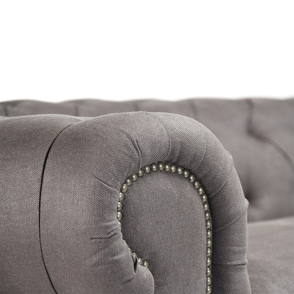 Zentique Jorden Sofa in Grey